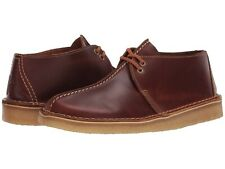 Men's Shoes Clarks Originals DESERT TREK Leather Lace Up Boots 48562 TAN