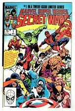 MARVEL SUPER HEROES SECRET WARS #1 (FN) Galactus Color Error Variant! 1984 Zeck