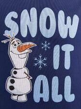 Disney Frozen Boy's size 12/14 FLANNEL PAJAMAS 2-Pc PJ Set ~ New with Tags
