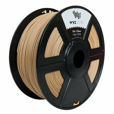 Wood PLA 1.75mm WYZworks 3D Printer Premium Filament 1kg/2.2lb