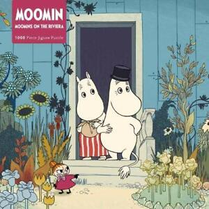 Adult Jigsaw Puzzle Moomins on the Riviera: 1000-piece Jigsaw Puzzles