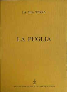 la Puglia cartella completa 10 acqueforti artisti pugliesi 50x35 tutte firmate