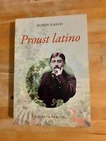 Proust Latino - Ruben Gallo - Buchet Chastel