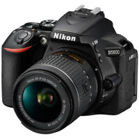Nikon D5600 24.2MP DX-Format Digital SLR Camera w/ AF-P 18-55mm f/3.5-5.6G VR