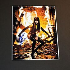 MALIN AKERMAN SIGNED PHOTO SEXY WATCHMEN PROOF & COA