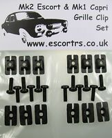 Grille Clip Set MK2 Escort RS 2000 Mexico RS1800 Sport Brand Spanking New!!