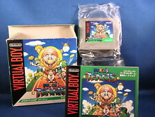 Nintendo Virtual Boy Mario's Tennis Japan