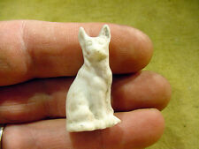 dog animal age 1890 excavated in Limbach Fève ancienne porcelaine Art. 4437