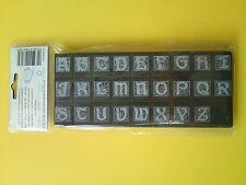 New! 26 Alphabet Rubber Stamps set Liberty CAPITAL Letters CRAFTS, CARD MAKING