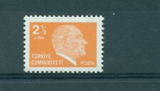 PERSONALITA' - PERSONALITIES TURKEY 1981 Ataturk Common Stamp