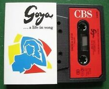 Goya - A Life in Song Placido Domingo +  Cassette Tape - TESTED