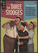 The THREE STOOGES #27, 1966, Gold Key Comics - VG-