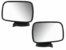 86-93 Mazda Pickup Left & Right Manual Chrome Mirror Pair L+R