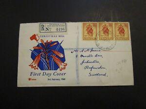Australia 1960 Registered First Day Cover - Z3736