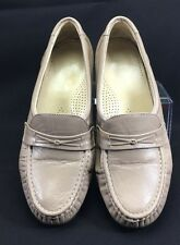 SAS Tripad Comfort Foot Bed Taupe Slip On Oxford Loafers Casual Shoes 8 1/2 W