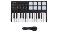 Midi Controller Portable 25 Key USB Keyboard And Drum Pad Mini Set Professional