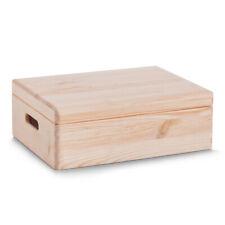 Boîte en Bois Caisse Toutes Utilisations Rangement Coffre à Jouets