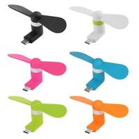 Mini Portable Type-C Mobile Phone USB Cooling Fan Mute Fan Gadget for Android