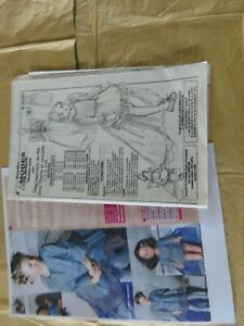 patron modes et travaux déguisement poupée et enfant Emilie fevrier 2008