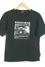 Vintage 2000 Radiohead Waste UK Band Sex Work Death Promo T-Shirt sz L Made USA