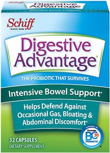 Intensive Bowel Support Probiotic Supplement- Digestive Advantage 32 Capsule...