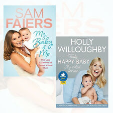 My Baby & Me and Truly Happy Baby Collection 2 Books Set By Sam Faiers & Holly