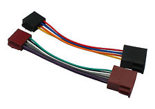 Universal ISO to ISO lead CT20UV01 harness cable adaptor for car stereo radio
