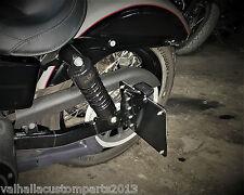seitlicher Kennzeichenhalter Bohrung 13 mm UNI Honda Cafe Racer Bobber ohne LED