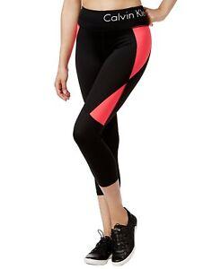 Calvin Klein Performance Women's Colorblocked Cropped Leggings