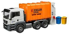 Bruder MAN TGS Rear Loading Garbage Kids Toy Truck 03762 NEW SAME DAY SHIP