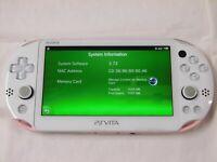 V2927 PS Vita 2000 console Wi-Fi model Light Pink / White PCH-2000 ZA19 English