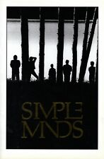 SIMPLE MINDS 1986 ONCE UPON A TIME TOUR CONCERT PROGRAM BOOK BOOKLET--NMT 2 MINT