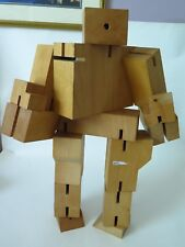 Areaware by David Weeks Studio XL Cubebot Signed by David Weeks