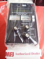 MFJ 269C - HF/VHF/UHF SWR ANALYZER - Covers 530 KHz to 230 MHz and 415 to 470MHz