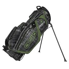 OGIO 2017 Silencer Stand Protective & Quiet 14 Way Top Golf Bag, Paranormal Moss