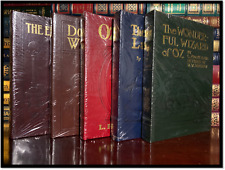 Wizard Of Oz 5 Volume Set by Baum Sealed Easton Press Leather Bound Hardcovers
