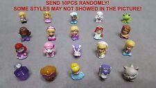 *SEND RANDOM* Lot 10pcs SQUINKIES Disney Princess Girls Animals Figure Kids Toys