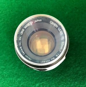 lens canon 1.8  50mm