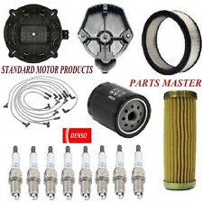Tune Up Kit Filters Cap Spark Plugs Wire For CHEVROLET BEL AIR V8 5.0L 1981