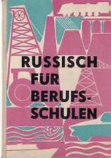 DDR Lehrbuch Russisch für Berufsschulen/VEB Verlag Sprache und Literatur 1963