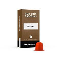 50 capsule compatibili Nespresso - Ginseng - Il caffè Italiano
