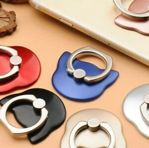 Universal Finger Grip Ring Phone Stand Holder Mount Mobile For iPhone X XR XS Ma