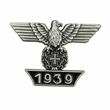 GERMAN ARMY PIN BADGE 1939 WIEDERHOLUNGSSPANGE WW2 GERMAN EAGLE STYLE REPRO