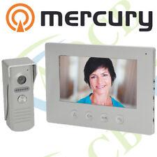 """7"""" Colour Video Door Phone Intercom 2-Way Handsfree Weatherproof HD 720p"""