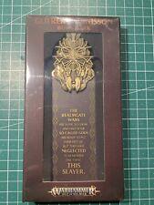 Warhammer Fantasy Age of Sigmar Gotrek Gurnisson Bookmark Lesezeichen New OOP