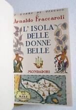 Fraccaroli L'ISOLA DELLE BELLE DONNE Bali libro 1934 viaggi antropologia