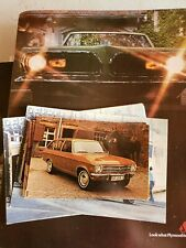 lot of 6 1971 Opel 1900 Wagon Postcards
