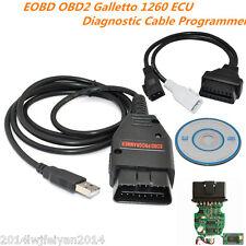 Galletto 1260 ECU EOBD OBD2 Program Diagnostic Cable Remap Flasher Tunning Tool
