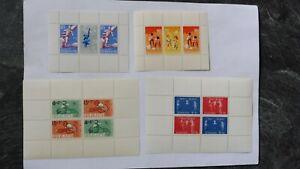Verkaufe 4 Postfrische Blöcke aus Suriname