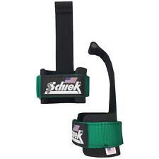 Schiek Sports Model 1000-DLS Deluxe Dowel Lifting Straps - Green